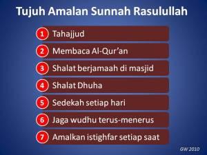 tujuh-amalan-sunnah